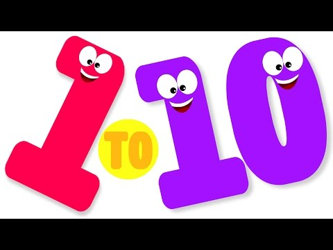 One To Ten Number Song | Number Song | Ten Little Numbers