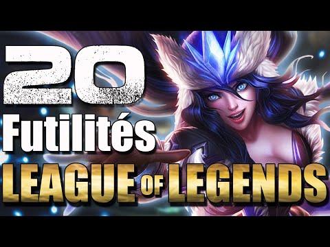 20 Futilités sur League of Legends - #04