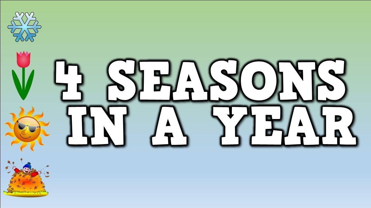 Seasons In A Year Kids Song Lyrics