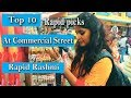Hop and Shop with Rapid Rashmi   Commercial street  