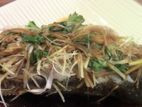 Chinese New Year Food Steamed Fish