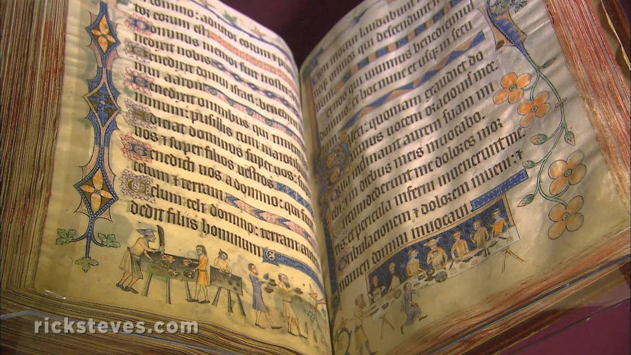London, England: Treasures of the British Library - YouTube