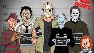 Los mejores asesinos del cine de terror (parte 1)   FULL HD 1080P