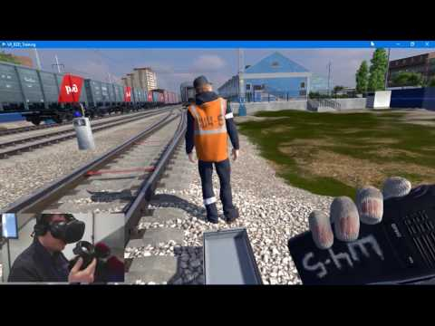 Tengo Interactive VR Training Solutions for Russian Railways.