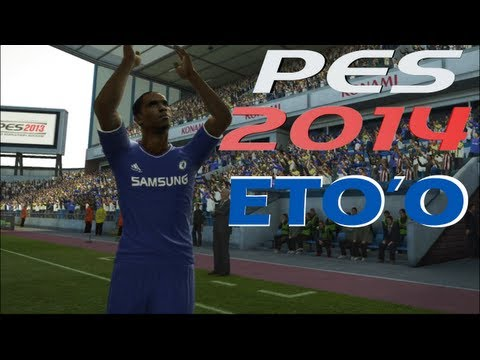 PES ● Samuel Eto'o signing for Chelsea FC - Transfer ● Welcome to Chelsea