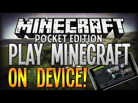How To Play MINECRAFT on Your Mobile Device! - BOARDWALK