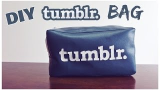 DIY Tumblr Bag w/ lining | Crafty Amy