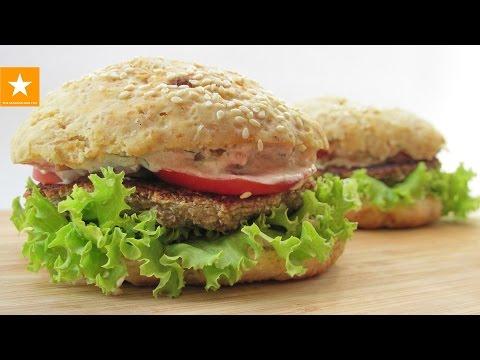 КОТЛЕТЫ без мяса. Вегетарианский ГАМБУРГЕР от Мармеладной Лисицы. Veggie Burger Recipe