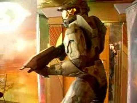 Master Chief wax statue at Madame Tussauds in Las Vegas
