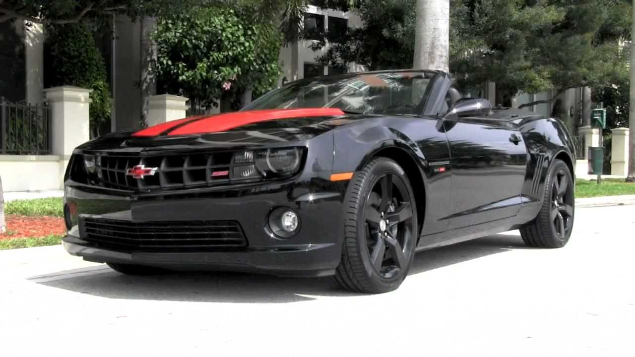 2011 Chevrolet Camaro 2SS Convertible Black Autos Of Palm