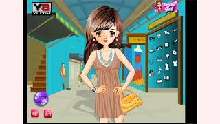 How to play Shopping Gal Dress Up game | Free online games | MantiGames.com