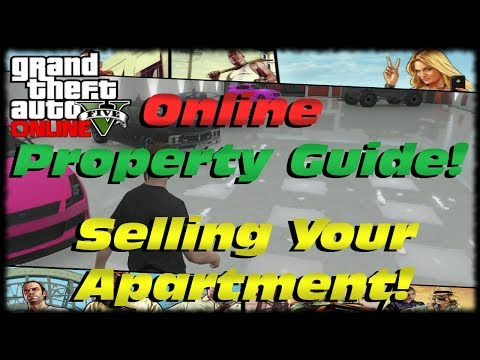 GTA 5 Online Property Guide! How To Sell Your Apartment, Move Garages, Buy BMX Bicycles GTAV Online!