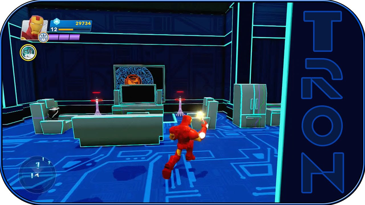 Disney Infinity 2 0 Enter The Grid Tron Room
