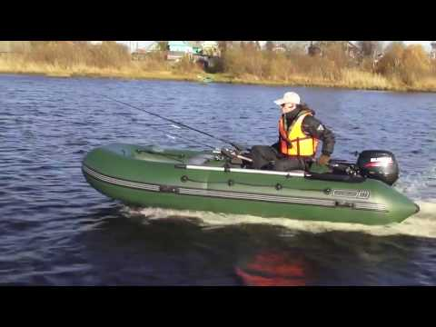 лодки пвх с надувным дном 380