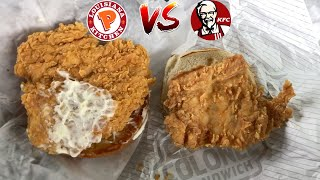 Is The Popeyes Chicken Sandwich Better Than KFC? (feat. C Snacks)
