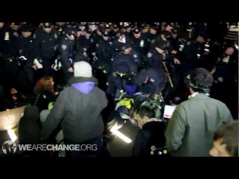 NYPD's Iron Fist: OWS Re-Occupation Arrests: Protester Has Seizure in Handcuffs