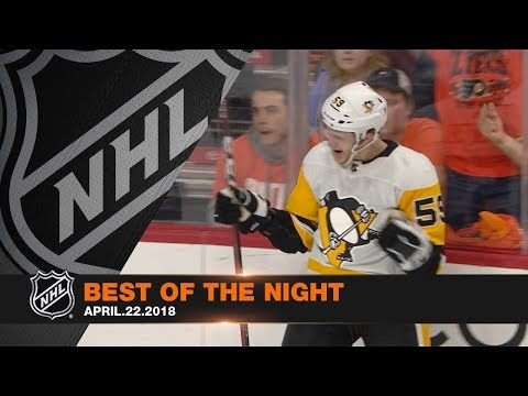 Preds and Pens advance, Couturier and Guentzel tally hat tricks
