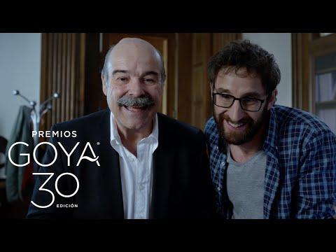 Spot Premios #Goya2016 con Dani Rovira y Antonio Resines