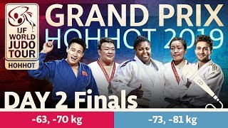 Judo GrandPrix Hohhot 2019 Day 2 Final Block