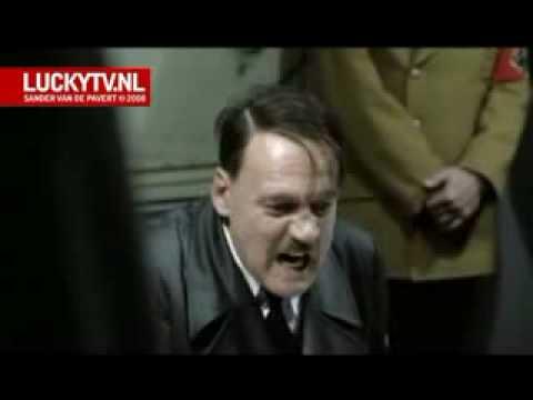 der untergang - bedrijfsuitje van Hitler