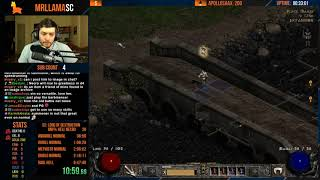 Diablo 2 - Hell Necro Day 1