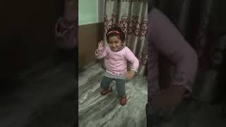 Little girl annya dance