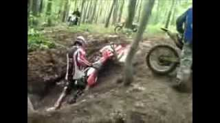 Video Lucu Bikers Jatuh