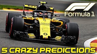 F1 2019 Season - 5 Crazy Predictions