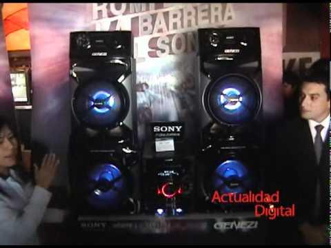 Sony trae al Perú el equipo de audio para el hogar más potente del mundo