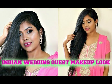 Friend's Wedding -How To Do Makeup Step by step/ Dusky/TanSkin/Indian Wedding/Party Makeup