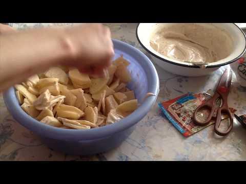 Куриные ножки, запеченные в духовке с картофелем