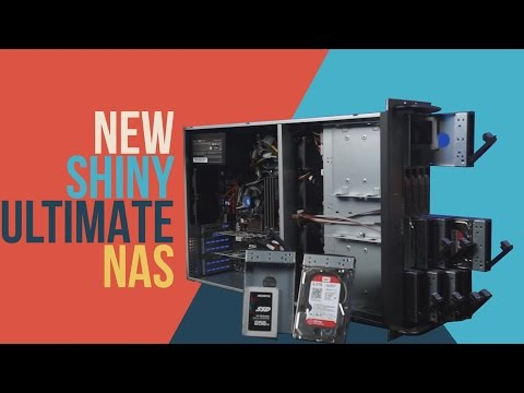 New Shiny Ultimate NAS ft. WD Red 6TB Harddrives