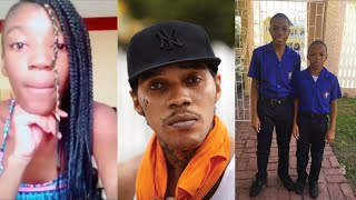 "Vybz Kartel Daughter/Son Wants To Know ""Weh Daddy Deh"""
