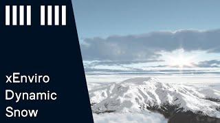 xEnviro dynamic snow accumulation