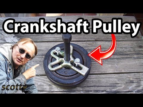 How To Remove A Crankshaft Pulley