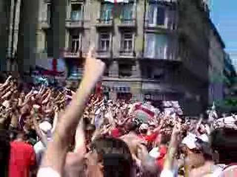 10 German Bombers England fans Stuttgart WC 2006