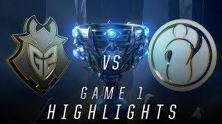 IG vs G2 - Worlds Semifinal Match Highlights (2018)