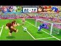 Mario & Sonic At The London 2012 Olympic Games Football Donkey Kong, Mario, Bowser and Sonic