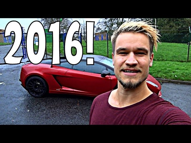 MY SUPERCAR ADVENTURES & YOUTUBE GOALS OF 2016!!