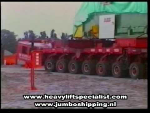 Heavy Lift Shipment & Transport Azito Power Station Ghana