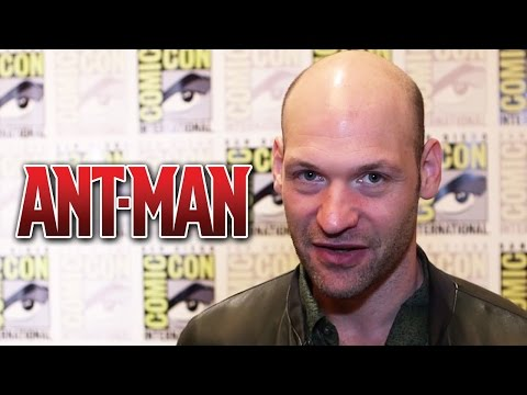 Corey Stoll On Ant-man Vs The Hulk & Yellowjacket's Powers - Comic-con 2014 video