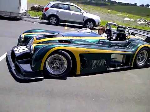 Jaguar Xk120 V12 Quad Turbo Race Car First Drive Youtube