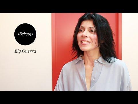 Bckstg con Ely Guerra