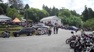 HELLS ANGELS M.C. NEW ZEALAND 2011 POKER RUN - PUHOI HOTEL STOP (3