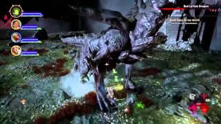 Dragon Age Inquisition Corypheus Battle Level 24 Female Qunari (Nightmare Difficulty)