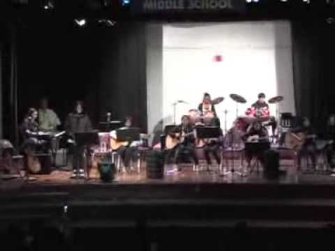 Vis Valley Middle School 2010 End Of Year Concert Accidentally