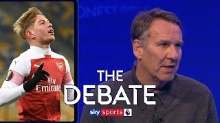 How impressive is Arsenals 18 game unbeaten run?   The Debate   Merson Sherwood