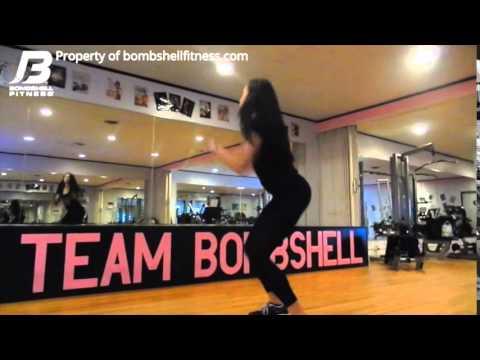 Bombshell Fitness - Football Drill