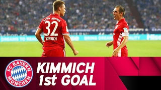 Kimmich Scores First FC Bayern Goal!