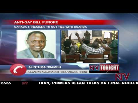 Canada threatens to cut ties with Uganda over anti-gay bill